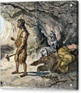 Neanderthal Man Acrylic Print