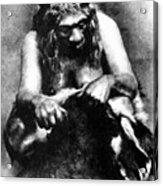 Neanderthal Woman Acrylic Print