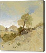 Near San Francisco, Mexico, March 1, 1883 Acrylic Print