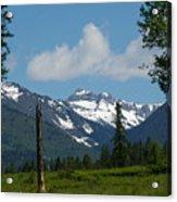 Near Sparwood British Columbia  Acrylic Print