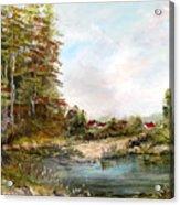 Near The Pond Acrylic Print
