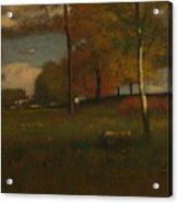 Near The Village, October Acrylic Print