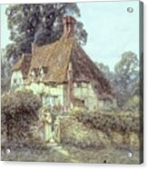 Near Witley Surrey Acrylic Print by Helen Allingham