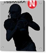 Nebraska Football Acrylic Print