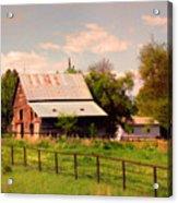 Nebraska In The Summer Afternoon Acrylic Print