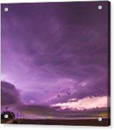 Nebraska Night Thunderstorms 008 Acrylic Print