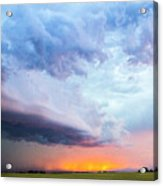 Nebraska Thunderstorm Eye Candy 021 Acrylic Print