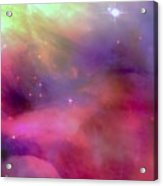 Nebula Light Acrylic Print