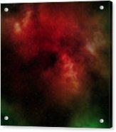 Nebula Acrylic Print by Michal Boubin