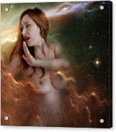 Nebula Nude 2 Acrylic Print