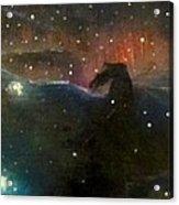 Nebula Triptych Acrylic Print