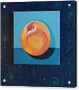 Nectarine Acrylic Print