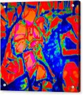 Ned Kellt Gang Art - Blue Seeya Acrylic Print by J Kamaru