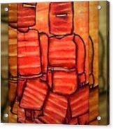 Ned Kelly Art - Sunset Killers Acrylic Print