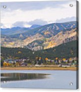 Nederland Colorado Scenic Autumn View Boulder County Acrylic Print