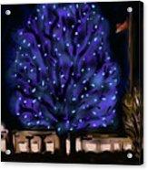 Needham's Blue Tree Acrylic Print