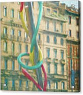 Needle And Thread Milan Italy Acrylic Print