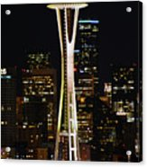 Needle At Night Acrylic Print