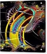 Needle In Fractal 4 Acrylic Print