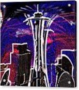 Needle In The City Acrylic Print