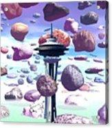 Needle Rocks Acrylic Print