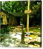 Neel Gap Appalachian Trail Acrylic Print