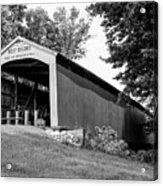 Neet Covered Bridge Acrylic Print