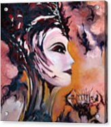 Nefertiti - Act With Modern Elegance Acrylic Print