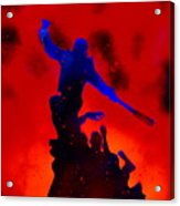 Negan Triumph  Acrylic Print