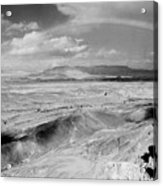 Neghev Desert Rainbow 1 Acrylic Print
