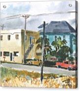 Neighborhood Corner Acrylic Print