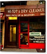 Neighborhood Shop - Dry Cleaners Acrylic Print