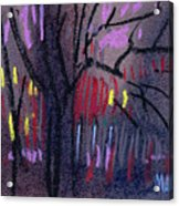 Neighbor's Lights Acrylic Print
