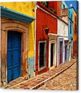 Neighbors Of The Yellow House Acrylic Print