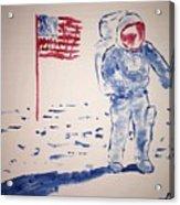Neil Armstrong Acrylic Print