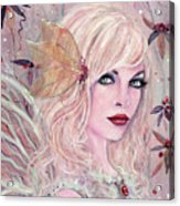 Neira Winter Fairy Acrylic Print