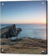Neist Point Sunset Acrylic Print