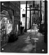 Nelson Bc Alley Acrylic Print