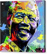 Nelson Mandela Madiba Acrylic Print