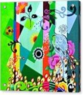 Nem Tudo Sao Flores Acrylic Print