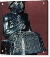 Neo-sumerian Prince Gudea Acrylic Print