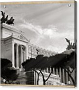 Neoclassical Architecture In Rome Acrylic Print