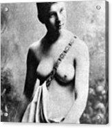 Neoclassical Nude Acrylic Print