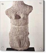 Neolithic Figure Acrylic Print