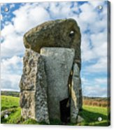 Neolithic Modern Acrylic Print