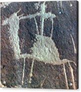 Neolithic Petroglyph Acrylic Print