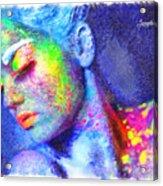 Neon Beauty Acrylic Print