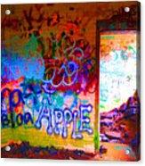 Neon Bunkers Acrylic Print