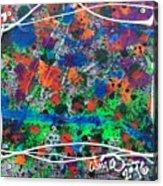 Neon Gumbo Acrylic Print