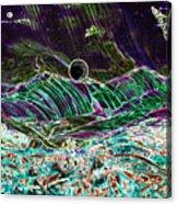 Neon Moon Acrylic Print